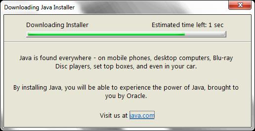 Java Downloading